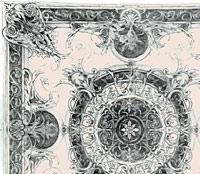 Эскиз росписи потолка насыщенный