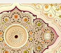 Эскиз росписи на потолке