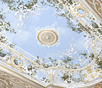 Проект росписи купола