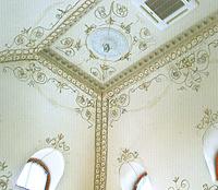 Эскиз росписи на куполе