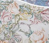 Роспись мебели стола цветы розы