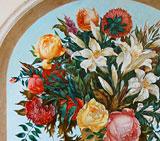 Роспись цветы натюрморт
