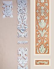 Эскиз к росписи колоннны