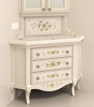 Эскиз росписи мебель