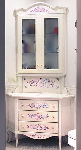 Росписная мебель на заказ   Филипп Никоноров   Киев