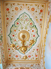 Орнаменальная роспись колон   Студия Гервь   Киев